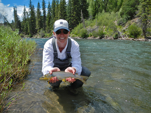 Nell's nice brown trout