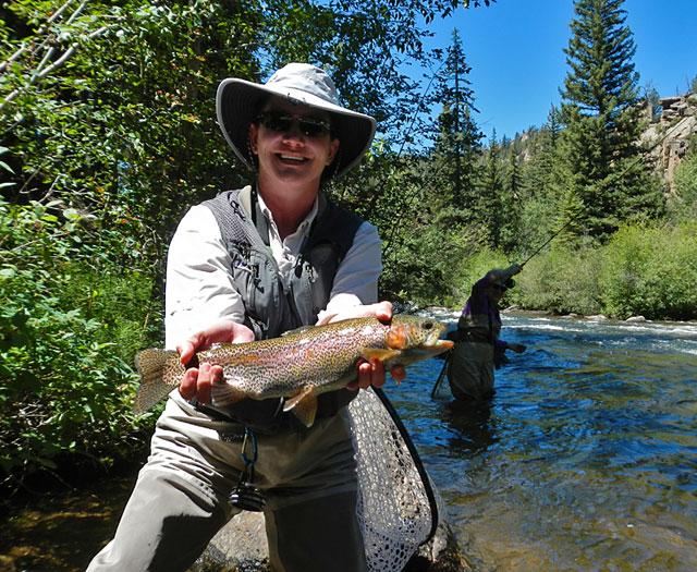 Peri's rainbow trout