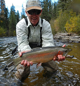 Rich's Big Rainbow Trout