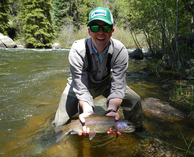 Tyler's Rainbow Trout