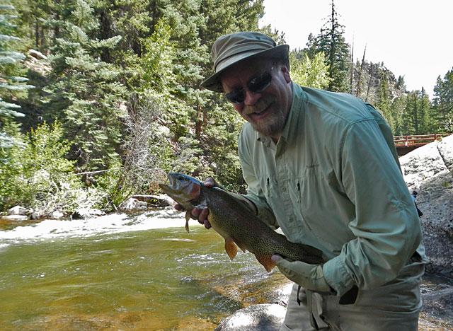 Hans at Taylor River Lodge